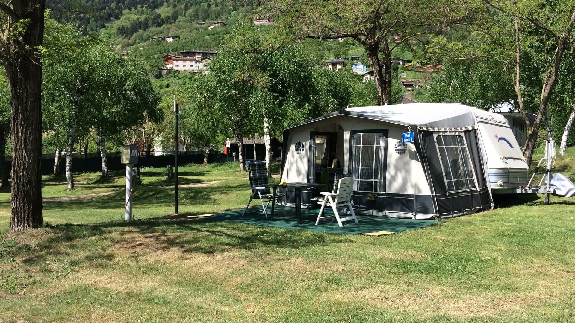 Relax Im Grünen: Camping Punta Indiani